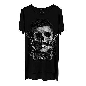 Camiseta Masculina Gola Cavada Korsair Wild Soul