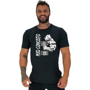 Camiseta Tradicional Masculina Manga Curta MXD Conceito Pitbull Maromba