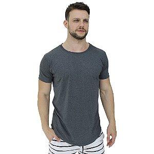 Camiseta Longline Malha PV Poliviscose Masculina MXD Conceito Grafite