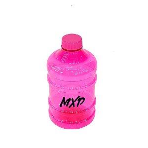 Galão de Água 1 Litro Academia MXD Conceito Rosa