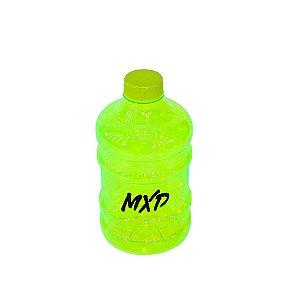 Galão de Água 1 Litro Academia MXD Conceito Amarelo Florescente