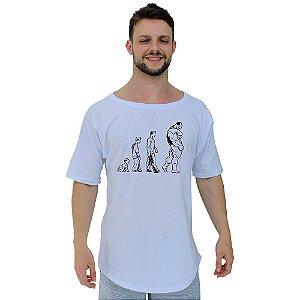 Camiseta Morcegão Masculina MXD Conceito Muscle Man Evolution