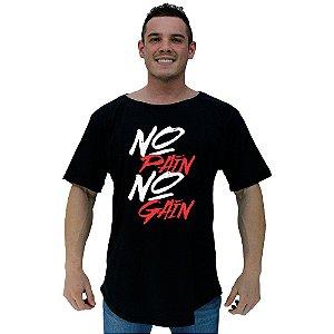 Camiseta Morcegão Masculina MXD Conceito No Pain No Gain Pincel