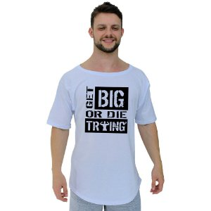 Camiseta Morcegão Masculina MXD Conceito Get Big Or Die Trying