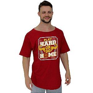 Camiseta Morcegão Masculina MXD Conceito Play Hard Or Go Home