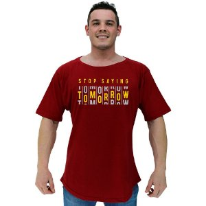 Camiseta Morcegão Masculina MXD Conceito Tomorrow