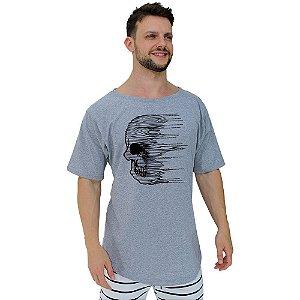 Camiseta Morcegão Masculina MXD Conceito Caveira Desintegrada