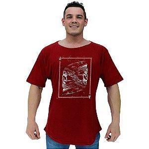 Camiseta Morcegão Masculina MXD Conceito Carta Indígena