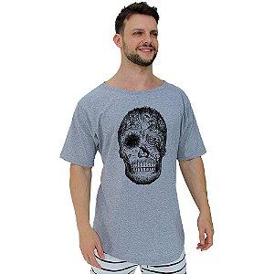 Camiseta Morcegão Masculina MXD Conceito Forest Skull