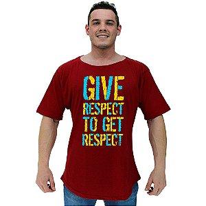Camiseta Morcegão Masculina MXD Conceito Give Respect To Get Respect