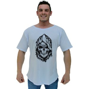 Camiseta Morcegão Masculina MXD Conceito Dark Skull