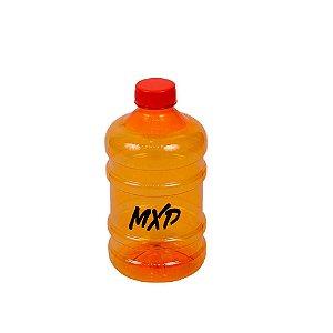 Galão de Água 1 Litro Academia MXD Conceito Laranja