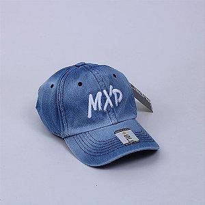 Boné Fecho de Fita MXD Conceito Unissex Azul Jeans
