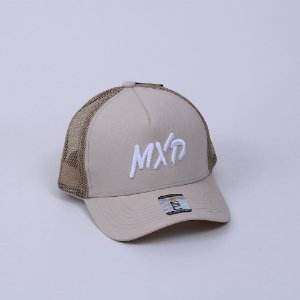 Boné Trucker MXD Conceito Unissex Cáqui