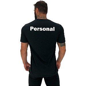 Camiseta Tradicional Universitária Personal Costas