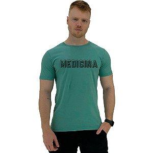 Camiseta Tradicional Universitária Medicina