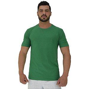 Camiseta Plus Size Tradicional Manga Curta MXD Conceito Verde