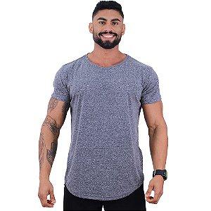 Camiseta Longline BENETTON Masculina MXD Conceito Mescla Black