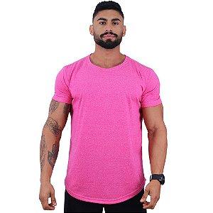 Camiseta Longline MOLINE Masculina MXD Conceito Pink