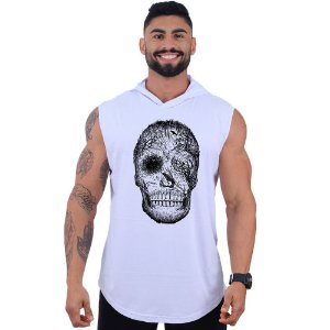 Regata Longline com Touca MXD Conceito Forest Skull Black