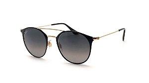 Óculos de Sol Ray-Ban RB3546 187/71 52-20 145 Preto e Dourado