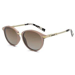 Oculos Sol Colcci Liza C0149b5434 Nude Brilho Lente Marrom Degrade