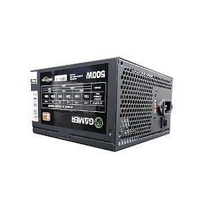 FONTE ATX 500W REAL BRAZILPC BPC/5330-B 24 PINOS BOX