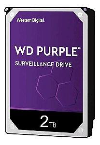 HD DESK SATA3 2TB WESTERN DIGITAL PURPLE WD20PURX (SEGURANÇA) OEM