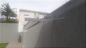 Varal de Muro Fixo