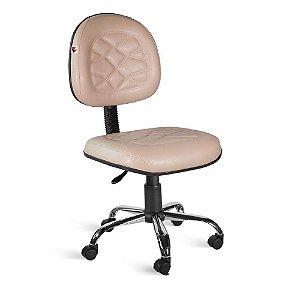 Cadeira Executiva Giratória Couríssimo Bege Turmalina