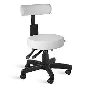 Cadeira Mocho Back System Couríssimo Branco