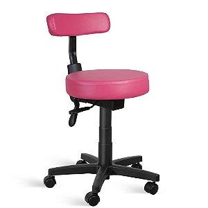 Cadeira Mocho Back System Couríssimo Rosa