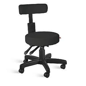 Cadeira Mocho Back System Couríssimo Preto