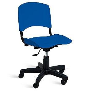 Cadeira Plástica Giratória A/E Azul Lara