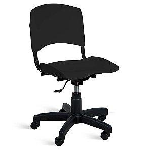 Cadeira Plástica Giratória A/E Preto Lara