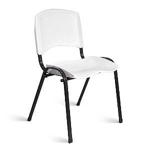 Cadeira Plástica Fixa A/E Branco Lara