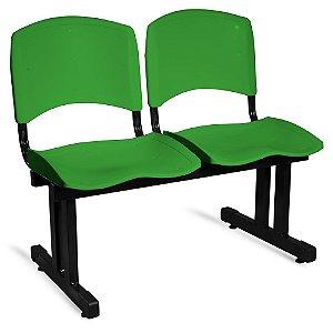 Longarina Plástica 2 Lugares A/E Verde Lara
