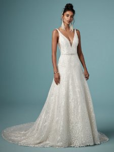 Vestido de Noiva Monica Mahanny