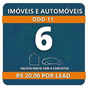 6 Leads de Consórcio (Imóvel e Automóvel)