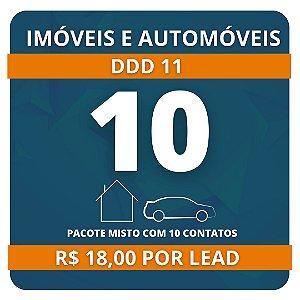 10 Leads de Consórcio (Imóvel e Automóvel)
