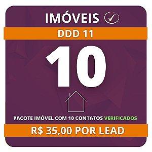 10 Leads de Consórcio de Imóvel (validados) DDD 11