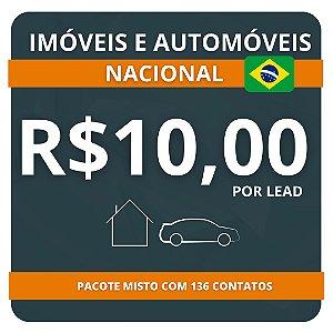 136 Leads de Consórcio (Imóvel e Automóvel) R$10,00 por lead Nacional