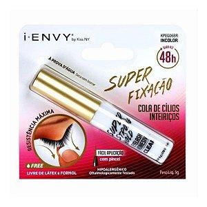 Cola Para Cílios Kiss NY 48H Super Strong Hold -Incolor