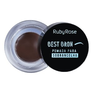 Pasta para Sobrancelhas Ruby Rose Best Brow -Dark