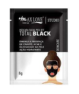 Máscara Facial Max Love Pell Off Total Black
