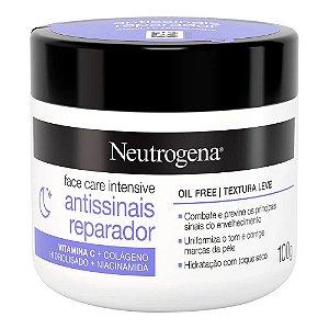 Neutrogena Face Care 100gr Antissinais Reparador