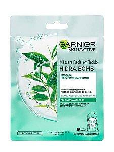 Máscara Facial Matificante Chá Verde Hidra Bomb - 32g