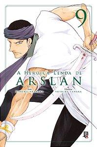 A Heroica Lenda de Arslan vol. 9 - PRÉ-VENDA