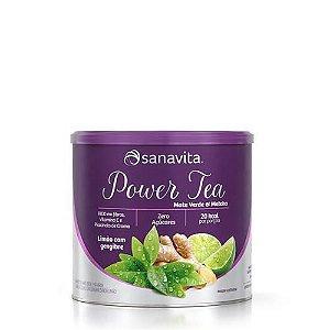 Power Tea Mate Verde & Matcha - Sabor Limão com Gengibre | 200g - CHÁ NATURAL E CONCENTRADO: SABOR E PRATICIDADE!