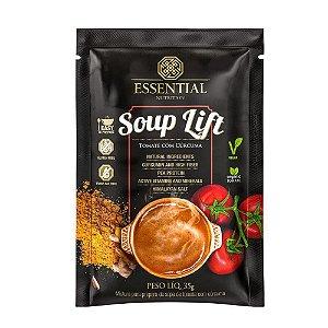 SOUP LIFT - Tomate com cúrvuma, 1 unidade (35g) | Sopa proteica 100% Vegana